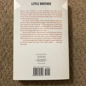 Accents - Little Brother- Young Adult Novel